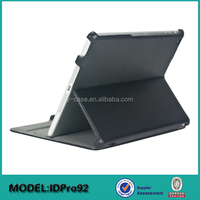 Hot pressing multi-stand leather case for iPad Pro 12.9' , for iPad pro tablet protect case