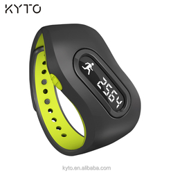 KYTO factory outlet bluetooth 4 activity tracker bracelet watches sleep monitor with IOS and Android app