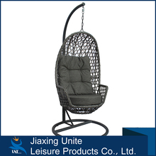 Steel frame + rattan hanging egg chair/buy egg chair