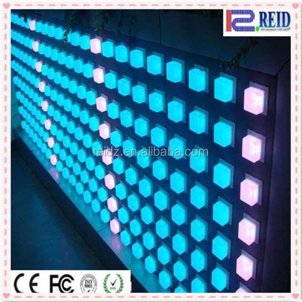 새로운 IC 디스코 벽 천장 포인트 RGB- LED- 매트릭스 놀라운 RGB DVI ...