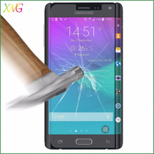 alibaba cn Ultra Thin Tempered Glass Screen Protectors for Samsung Galaxy Note Edge cell accessories in Arc Curve Shape