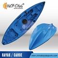 Plástico caiaque barco canoa