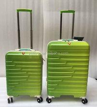 2015 hot sale fashion PC+ABS trolley luggage