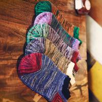Japan Harajuku cotton cents retro college wind short tube socks splicing lovely all-match men boat socks