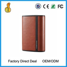 Cheapest leather power bank , mi power bank , solar battery charger