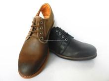 Black color classic men fashion leather dress shoes
