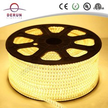 aluminum warm white 5050 led strip 220v with high quality