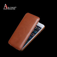High quality magnet phone cover flip leather case for iphone 6