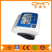 CE ROHS Househould automatic digital electronic Home & Family Use Backlight Display Wrist bluetooth blood pressure meter