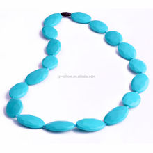 finely craft silicone jewelry necklace many styles food grade
