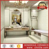 300x450mm great wall of china model rustic bathroom ceramic tile marble look ceramic border tile