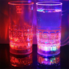 Colorful LED flash glass sell like hot cakes