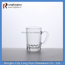 LongRun 4oz small coffee glass cups with handle wholesale promotional coffee mugs with handle