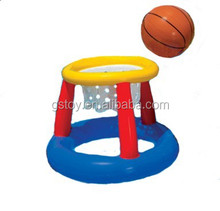 inflatable water basketball goal stand