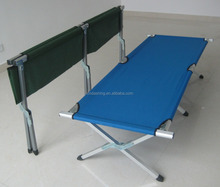 direct manufacturer military folding camping bed