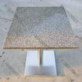 Fonte da fábrica original mesa de jantar redonda, tampo de mármore mesa de jantar, mobília da sala de jantar quadrada mesa