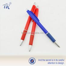 2014 Novel Design Translucent Plastic Ball Pen