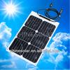 18watt hot selling flexible solar module for sale