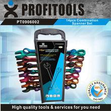 14pcs color coated mechanical hand tool