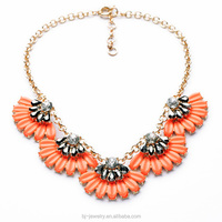 2014 Resin Chain Colorful surface piercing jewelry