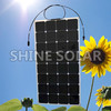 1W to 300W Custom Design Monocrystalline flexible solar panels for RV