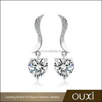 OUXI factory supply latest model charming jhumka earrings big with AAA zircon