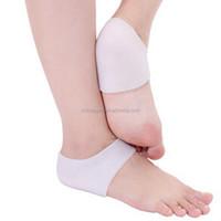Silicone Ankle Foot Heel Skin Moisturizing Foot Support Heel Gel Anklet Pads Brace Guard Gym Sport Sock Protector HA00525