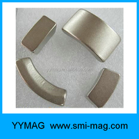 Neodymium Rare Earth arc motor magnets for permanent magnet generator