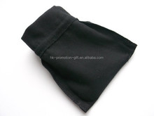 alibaba website cell phone bag with 100% black cotton
