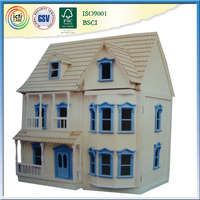 Prefabricated wooden house price kids wooden Play House