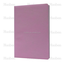 2015 Huaben custom cothe leather hardcover journal/multicolor book