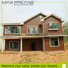 2015 new cheap modern light steel Structure Prefabricated House and Villa
