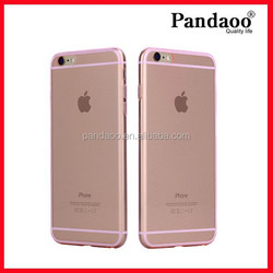 Simple High Quality Colorful TPU Back Cover Case for iphone 6