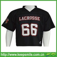 Custom Sublimated Lacrosse Game Jersey with Double Plies Shoulder