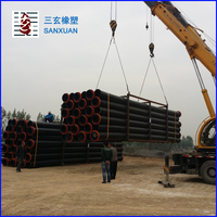 Hdpe pipe 100mm 200mm 250mm 300mm 350mm 600mm PN10 SDR11 Price List