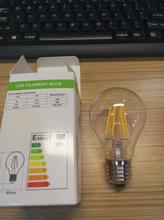 2015 Newest design 360 degree LED Filament lamp 6W E27