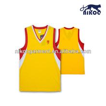 blank wholesale clothing basketball uniform design