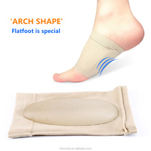 Forefoot foot drop Orthosis Insoles Corrective Flat foot Guard Care Shoes Insoles Silicone Shoes Corrective Insoles