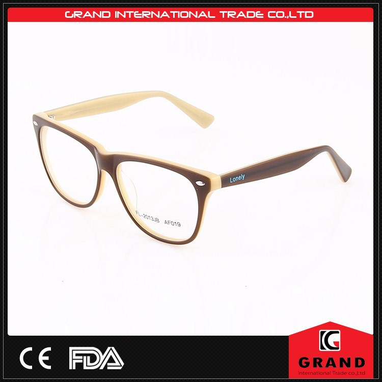 Eyeglass Frames Manufacturers : 2015 design popular handmade acetate optical german ...