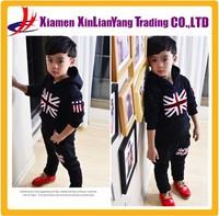 Thick Hoodies with Sports Pants Fleece Children Cheap Sweat Suits