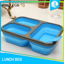 China supplies great material food storage container with divider
