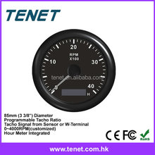 diesel engine tachometer,marine tachometer rpm meter