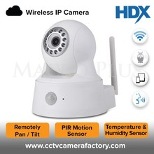 Best Selling 1MP 720P HD Resolution 2 WAY Audio Support Night Vision PTZ Mini Robot Ball Wifi iP Camera.