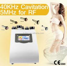 New arrival vacuum tripolar rf ultrasonic cavitation for weight loss
