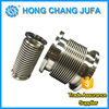 High pressure wire braided stainless steel corrugated compensator metal bellows