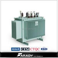 11kV 33kV hermetically seal tank power transformer pole mounted oil type immersed transformer S11 series