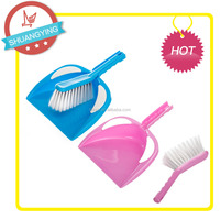 SY-3112 plastic cleaning tools dustpan brushes set ,mini sweeping broom