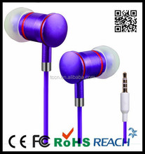 High quality new products flat cable earphone bulk buy from China