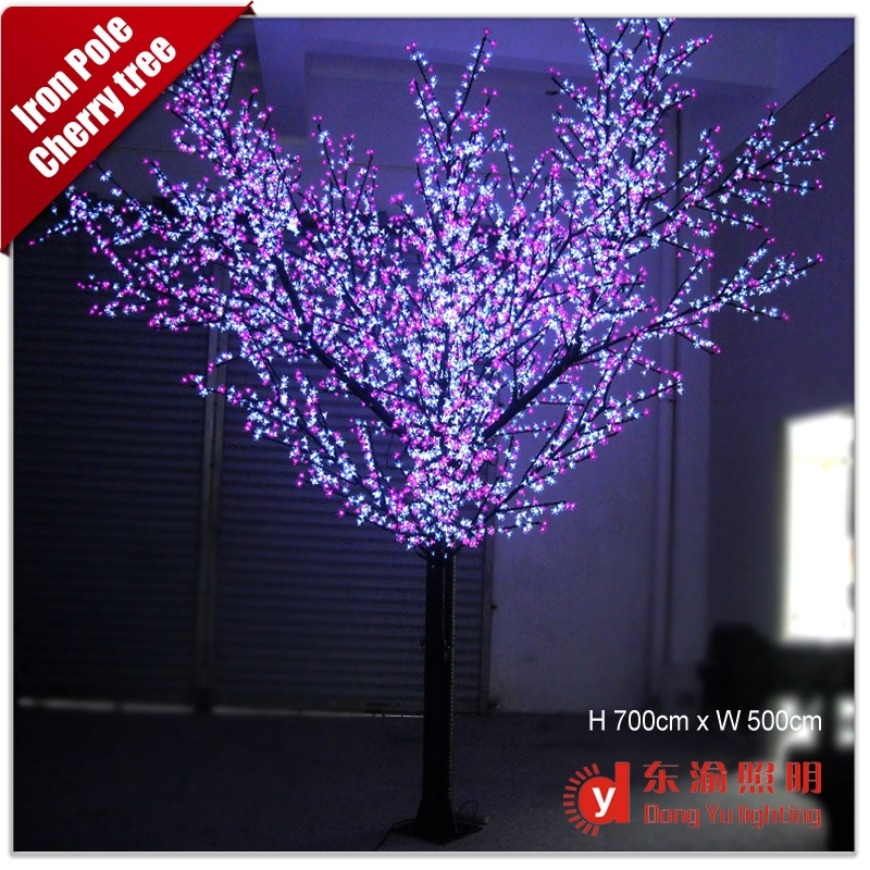 Outdoor Street Decoration Led Cherry Blossom Tree With High Brightness Lights