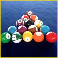 16 balls set packing snooker soccer ball, Snooker-Soccer, Snooker Soccer in No. 3 size